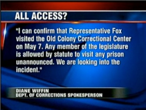 Misleading statement from Prison spokesperson